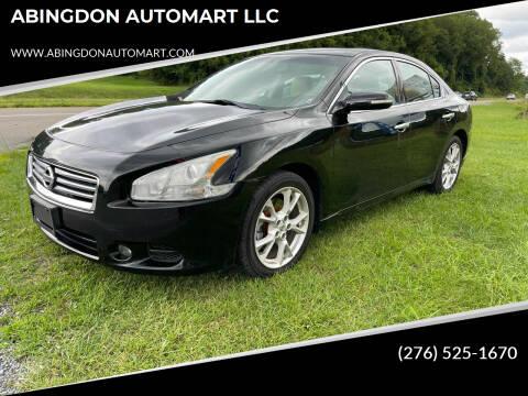 2012 Nissan Maxima for sale at ABINGDON AUTOMART LLC in Abingdon VA