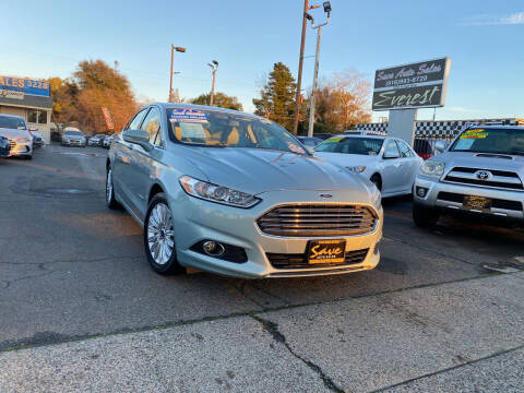 2013 Ford Fusion Hybrid for sale at Save Auto Sales in Sacramento CA