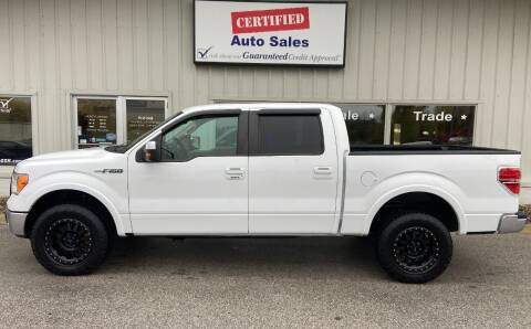 2011 Ford F-150 for sale at Certified Auto Sales in Des Moines IA