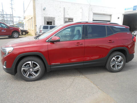 2019 GMC Terrain for sale at Salmon Automotive Inc. in Tracy MN