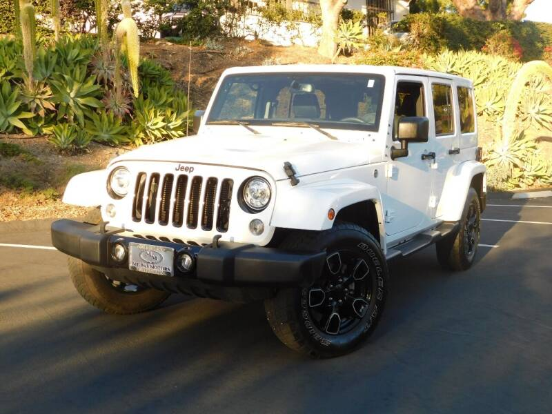 2018 Jeep Wrangler JK Unlimited for sale at Milpas Motors in Santa Barbara CA