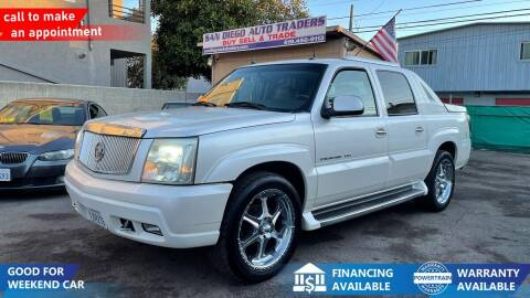 2003 Cadillac Escalade EXT for sale at San Diego Auto Traders in San Diego CA