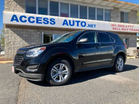 2016 Chevrolet Equinox for sale at Access Auto in Salt Lake City UT