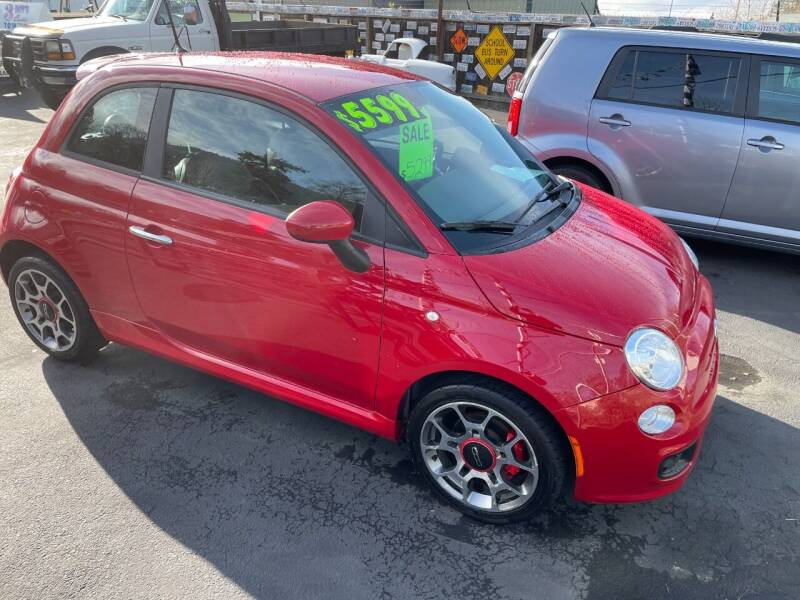 2012 FIAT 500 for sale at 3 BOYS CLASSIC TOWING and Auto Sales in Grants Pass OR