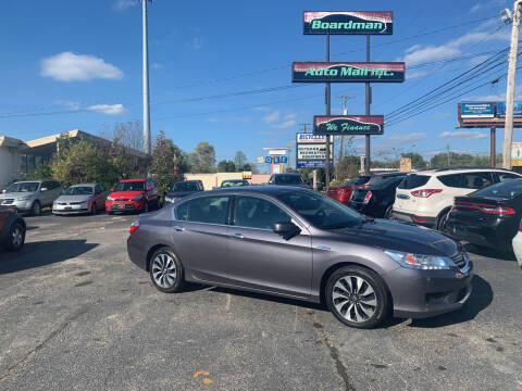 2015 Honda Accord Hybrid for sale at Boardman Auto Mall in Boardman OH