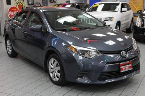 2016 Toyota Corolla for sale at Windy City Motors in Chicago IL