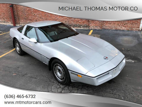 1984 Chevrolet Corvette for sale at Michael Thomas Motor Co in Saint Charles MO
