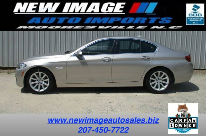 2015 BMW 5 Series for sale in Mooresville, NC