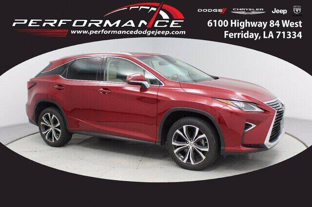 2017 Lexus RX 350 for sale at Performance Dodge Chrysler Jeep in Ferriday LA