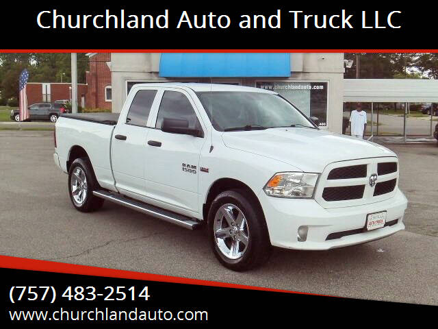 2016 RAM Ram Pickup 1500 for sale at Churchland Auto and Truck LLC in Portsmouth VA