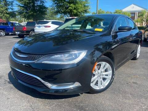 2016 Chrysler 200 for sale at iDeal Auto in Raleigh NC
