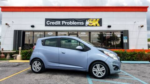 2014 Chevrolet Spark for sale at Car Depot in Miramar FL