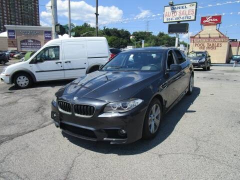 2013 BMW 5 Series for sale at Daniel Auto Sales in Yonkers NY