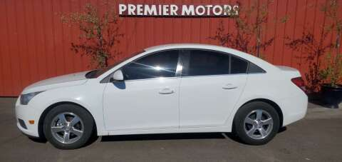 2012 Chevrolet Cruze for sale at PREMIERMOTORS  INC. in Milton Freewater OR