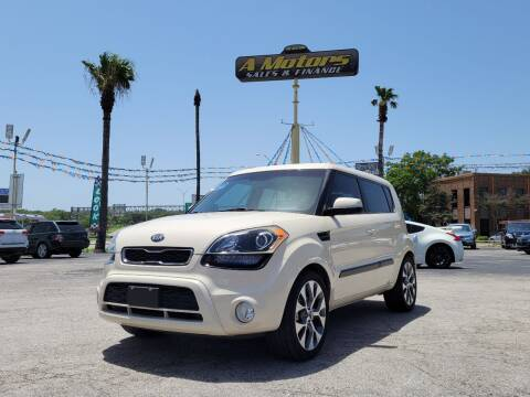 2013 Kia Soul for sale at A MOTORS SALES AND FINANCE in San Antonio TX