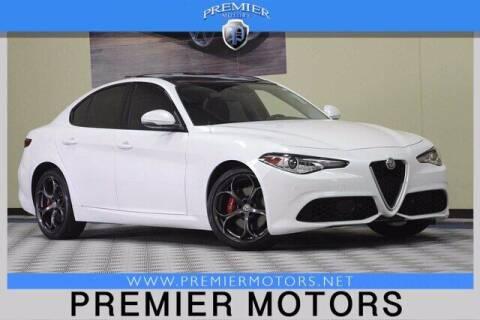 2017 Alfa Romeo Giulia for sale at Premier Motors in Hayward CA
