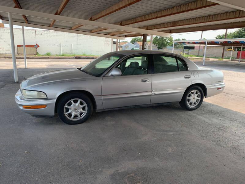 2001 Buick Park Avenue for sale at Kann Enterprises Inc. in Lovington NM