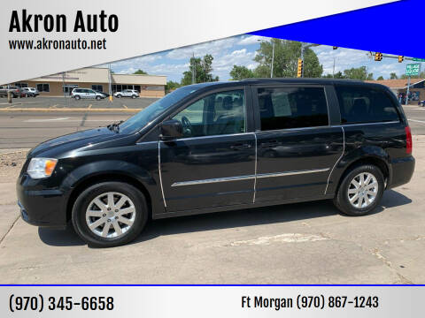 2013 Chrysler Town and Country for sale at Akron Auto - Fort Morgan in Fort Morgan CO