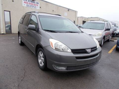 2005 Toyota Sienna for sale at ACH AutoHaus in Dallas TX