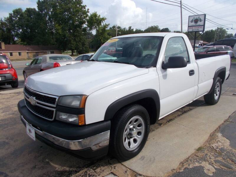 2006 Chevrolet Silverado 1500 for sale at High Country Motors in Mountain Home AR