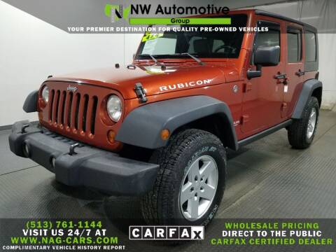 2009 Jeep Wrangler Unlimited for sale at NW Automotive Group in Cincinnati OH