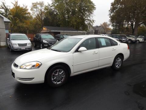 2007 Chevrolet Impala for sale at Goodman Auto Sales in Lima OH