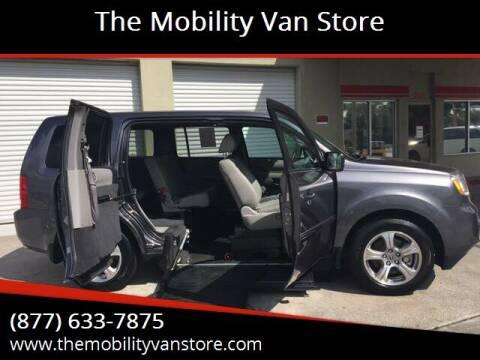 2015 Honda Pilot for sale at The Mobility Van Store in Lakeland FL