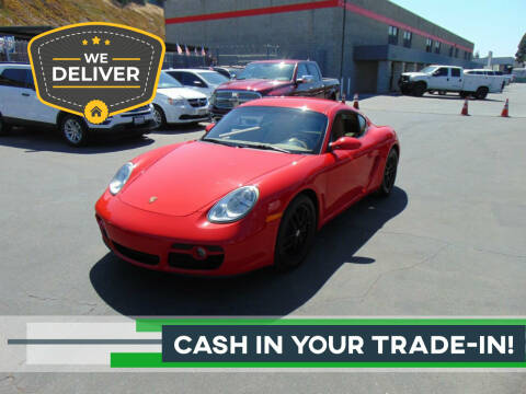 2007 Porsche Cayman for sale at So Cal Performance in San Diego CA