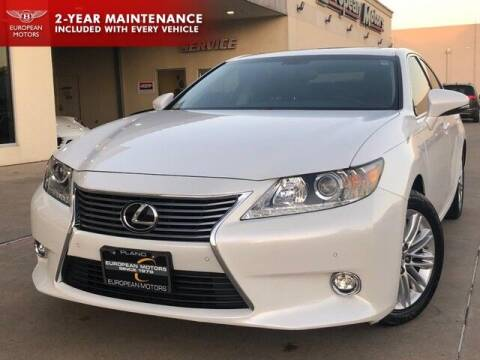 2015 Lexus ES 350 for sale at European Motors Inc in Plano TX