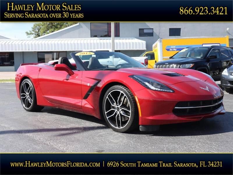 2015 Chevrolet Corvette for sale at Hawley Motor Sales in Sarasota FL