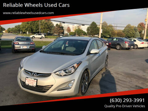 2015 Hyundai Elantra for sale at Reliable Wheels Used Cars in West Chicago IL