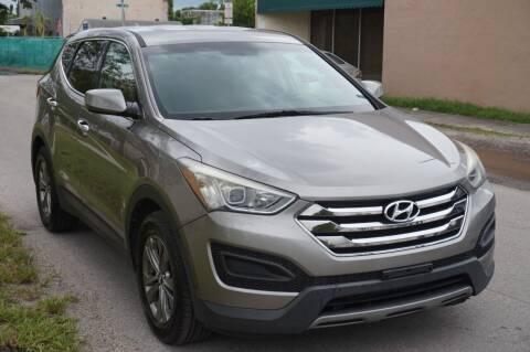 2014 Hyundai Santa Fe Sport for sale at SUPER DEAL MOTORS in Hollywood FL