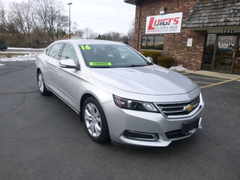 2016 Chevrolet Impala for sale at Luigi's Automotive Collision Repair & Sales in Kenosha WI