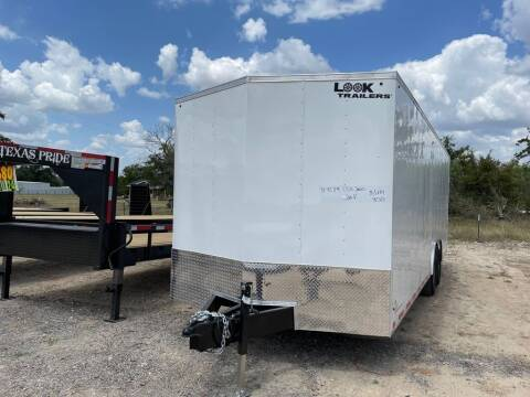 2022 Look Trailers ENCLOSED 8.5' X 24'' X 7' for sale at LJD Sales in Lampasas TX