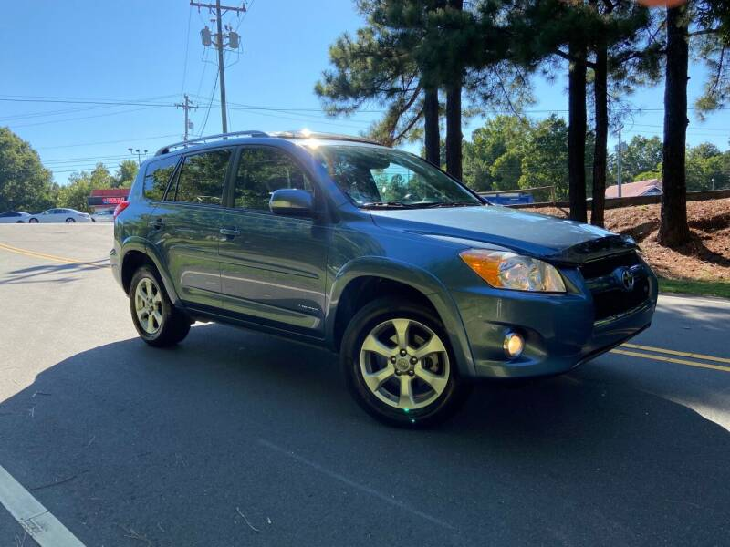 2009 Toyota RAV4 for sale at THE AUTO FINDERS in Durham NC