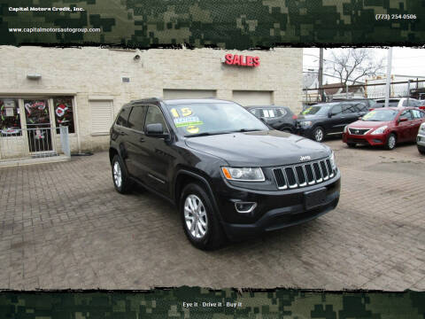 2015 Jeep Grand Cherokee for sale at Capital Motors Credit, Inc. in Chicago IL