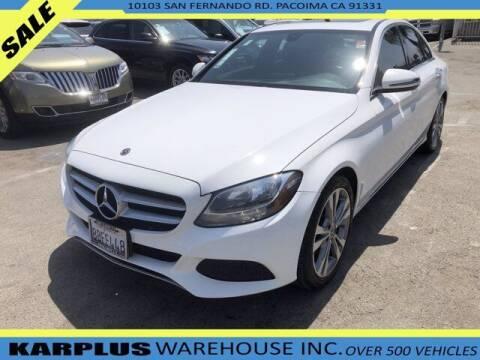 2018 Mercedes-Benz C-Class for sale at Karplus Warehouse in Pacoima CA