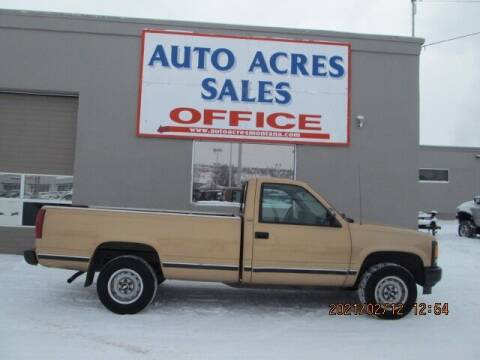 1993 Chevrolet C/K 1500 Series for sale at Auto Acres in Billings MT