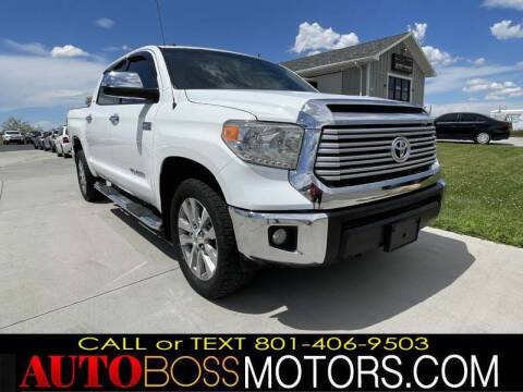 2014 Toyota Tundra for sale at Auto Boss in Woods Cross UT