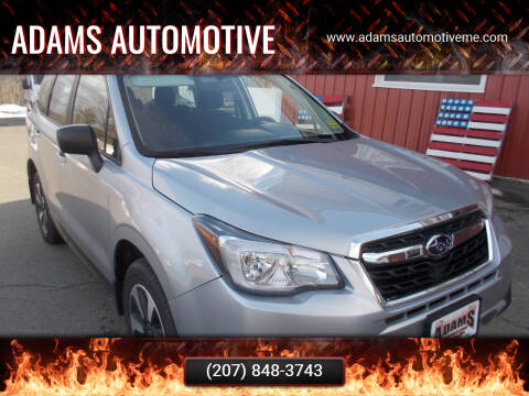 2018 Subaru Forester for sale at Adams Automotive in Hermon ME