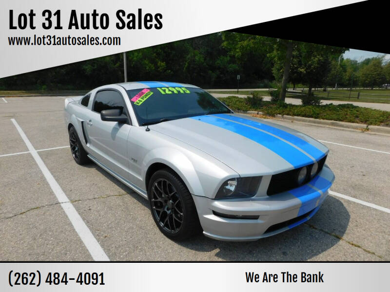 2006 Ford Mustang for sale at Lot 31 Auto Sales in Kenosha WI