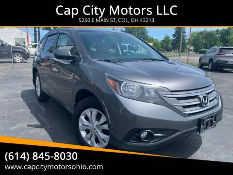 2013 Honda CR-V for sale at Cap City Motors LLC in Columbus OH