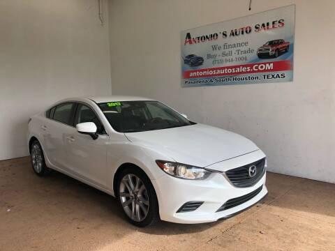 2017 Mazda MAZDA6 for sale at Antonio's Auto Sales in South Houston TX