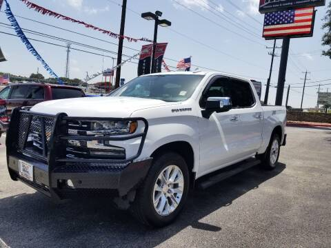 2019 Chevrolet Silverado 1500 for sale at ON THE MOVE INC in Boerne TX