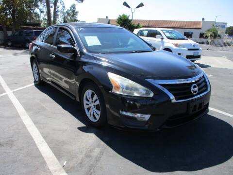 2013 Nissan Altima for sale at F & A Car Sales Inc in Ontario CA