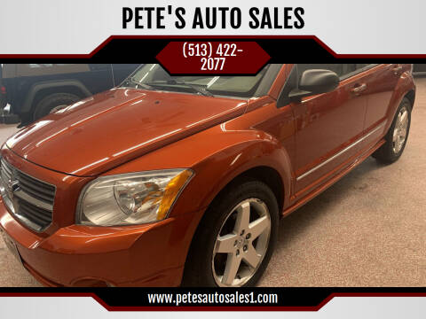 2007 Dodge Caliber for sale at PETE'S AUTO SALES LLC - Middletown in Middletown OH