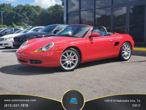 2000 Porsche Boxster for sale at Automaxx in Tampa FL