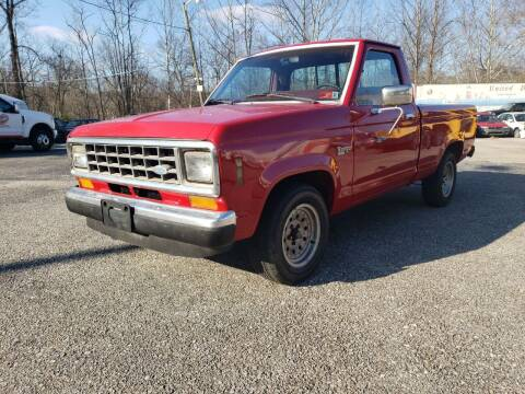 1987 Ford Ranger for sale at Ona Used Auto Sales in Ona WV
