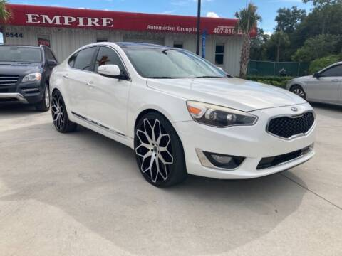 2015 Kia Cadenza for sale at Empire Automotive Group Inc. in Orlando FL