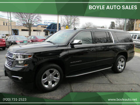 2015 Chevrolet Suburban for sale at Boyle Auto Sales in Appleton WI